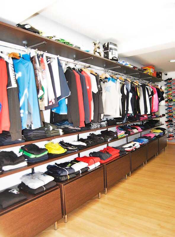 abbiglimento negozio fitnesspro