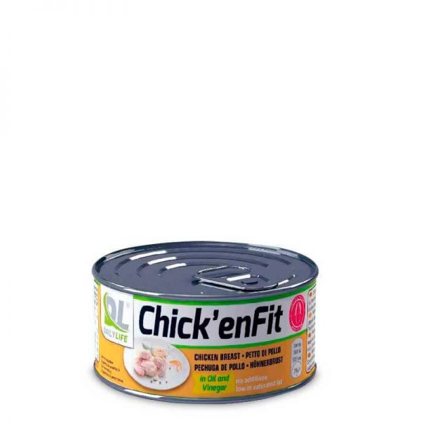 Chick'en Fit filetti di petto di pollo proteici con olio e aceto fitnesspro