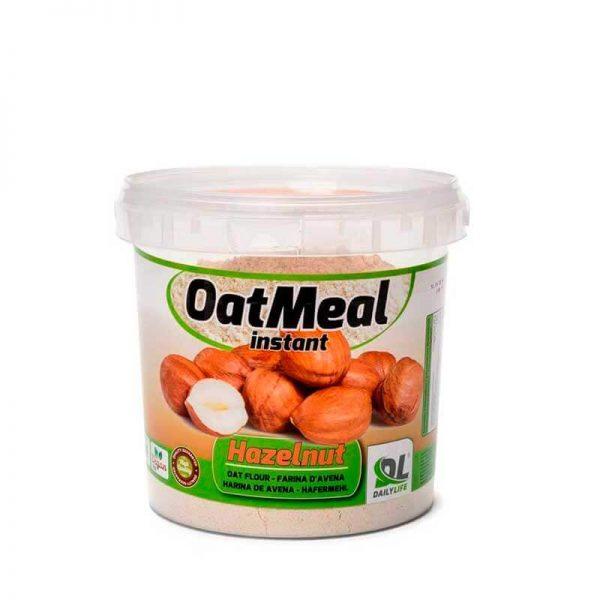 oat meal farina di avena nocciola fitnesspro