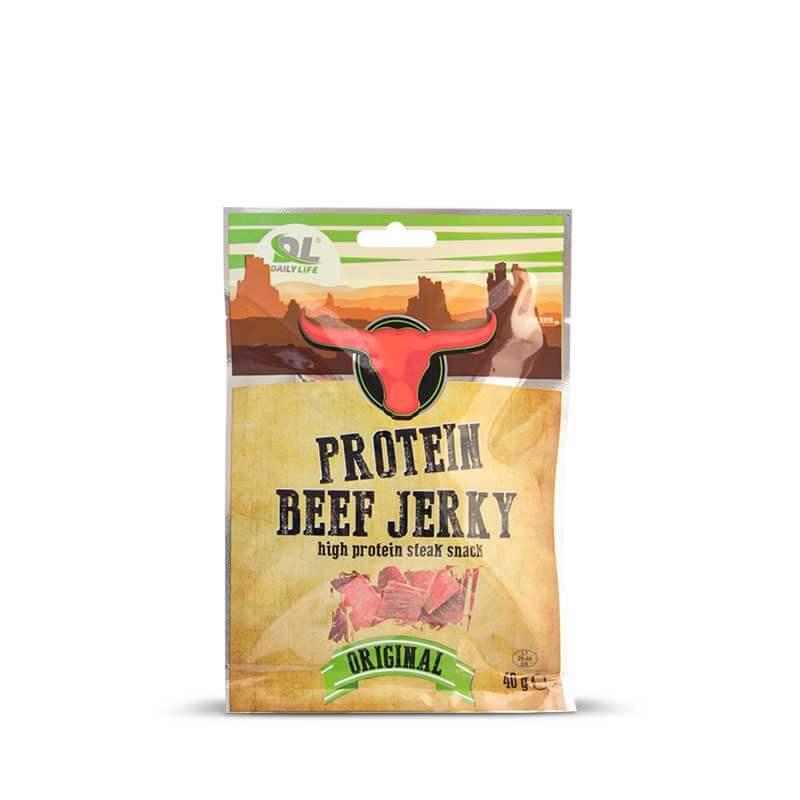 Jerky carne di manzo essiccata fitnesspro